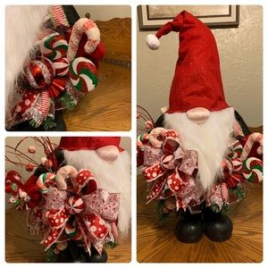 Handcrafted Christmas Gnome tree